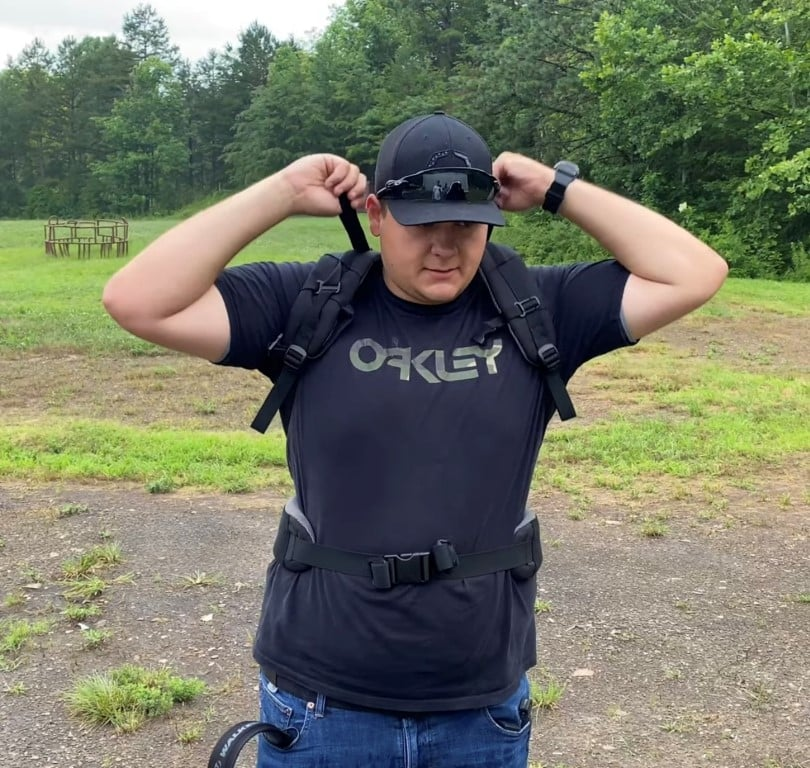 Bulletproof Backpack transforms to a Concealed Bulletproof Vest