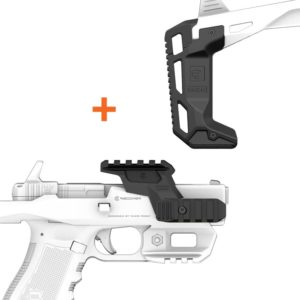 Recover Tactical Buttstock Extention & Upper Rail Combo for 20/20, 20/21, 20/22 & 20/80 Platforms 3