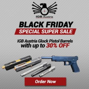 Black Friday Pistol Barrels Deals